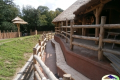 Africká vesnice v ZOO Brno