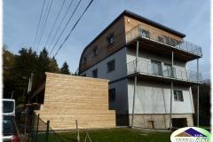 Obklady na moderním domě ve Valašském Meziříčí