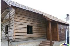 Rekontrukce 120 let staré dřevěnice ve Zděchově