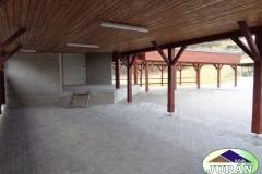 Taneční areál v Jasenné