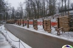 Klokaní ubikace v ZOO Brno