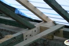 Oprava střechy na kostele v Ratiboři