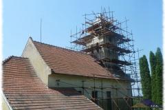 Oprava kostele Sv. Antonína v Komárově
