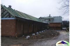 Krovová konstrukce v Pržně