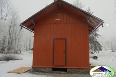 Oprava Zahradního domku v Moravském Berouně