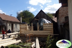 Oprava historického domu v Návojné