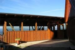Vyhlídková terasa na Kohůtce