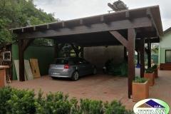 Stání pro auta ve Vsetíně - Rokytnici