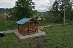 Posezení u stezky - Hovězí, Nový Hrozenkov, Velké Karlovice