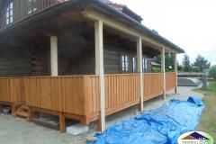 Napojení dřevěnice v Pržně