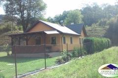 Zrekonstruovaný dům v Leskovci