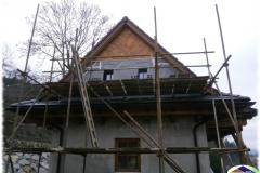 Dřevěné obklady na RD ve Vsetíně