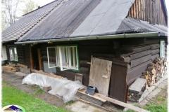 Roubený dům před rekonstrukcí
