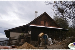 Roubený dům v Krasné p. Lysou Horou