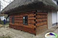 Oprava historického domu v Rymicích