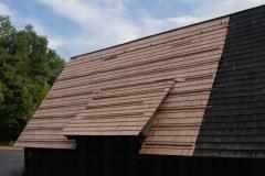 Oprava střechy na Stodole z Hodslavic