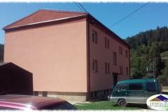 Střecha na bytovce v Ústí