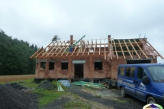 Střecha v Horní Suché