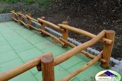 Akátové ploty - Vsetín, Ohrada