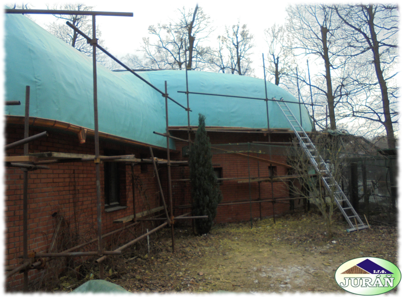 Oprava střešní konstrukce v ZOO Hodonín